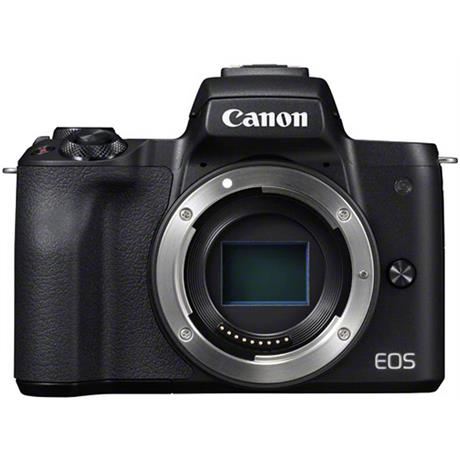 Canon EOS M50 Mirrorless Camera Body - Black Image 1